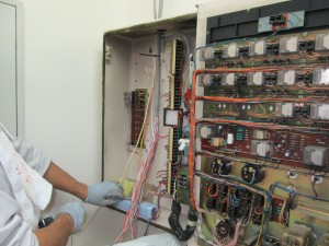 火災報知盤移設工事 A03