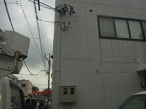 電気メーター移設工事 A03