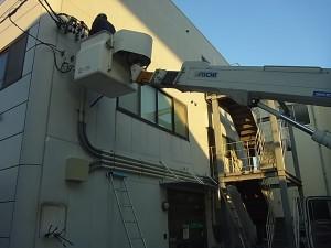 電気メーター移設工事 A04