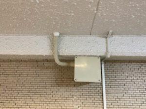 名古屋市西区のビルにてコンセントの増設電気工事