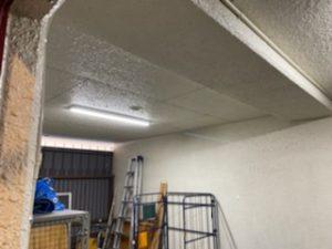 名古屋市西区のビルにて照明器具の増設及び取替電気工事