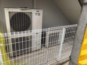 名古屋市名東区の住居兼店舗ビルにて動力の中電申請及び電気工事