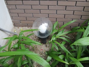 庭園ポール外灯取替工事 A01