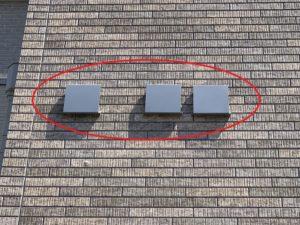 名古屋市緑区の戸建住宅にて換気扇フードの取替電気工事