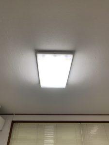 愛知県飛島村の工場事務所にてLED照明器具へ取り替え電気工事