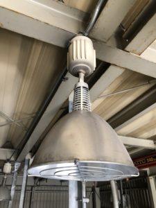 名古屋市港区の倉庫にて漏電調査及び復旧電気工事
