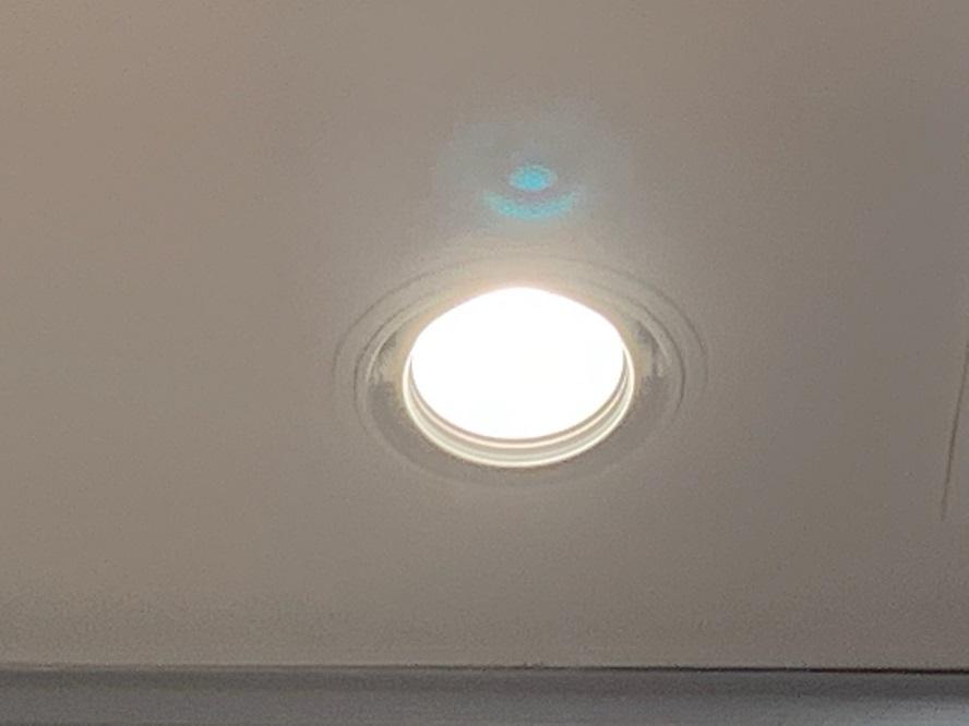 名古屋市緑区 商業施設内におけるダウンライト取替の電気設備工事