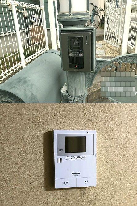 名古屋市緑区 住宅用インターホン取替の電気設備工事