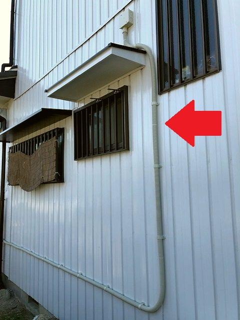 愛知県稲沢市 住宅用EVコンセント設置の電気設備工事