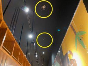 愛知県蟹江市にてコンパクト蛍光灯取替の電気設備工事