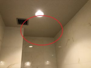 名古屋市中区の飲食店にて殺菌灯の取付電気工事