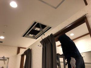 名古屋市中区のホテルにてファンコイルのリモコン取替電気工事